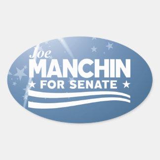 Sticker Ovale Joe Manchin pour le sénat