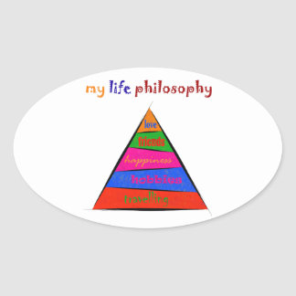 Sticker Ovale Kephalonissa - ma philosophie de la vie