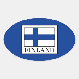Sticker Ovale La Finlande