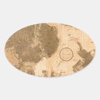 Sticker Ovale La Havane 1879