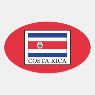 Sticker Ovale Le Costa Rica