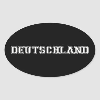 Sticker Ovale Le Deutschland