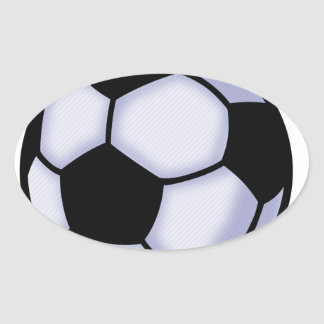 Sticker Ovale le football