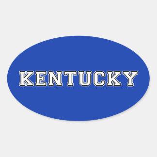 Sticker Ovale Le Kentucky