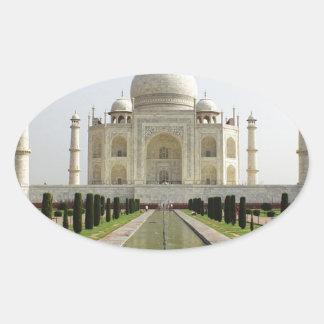 Sticker Ovale Le Taj Mahal