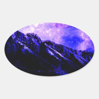 Sticker Ovale Matanuska vernal