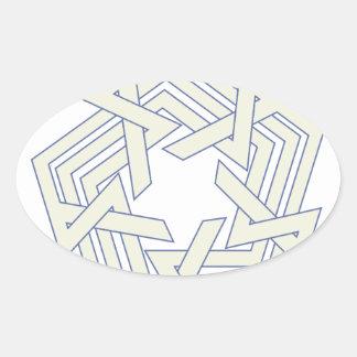Sticker Ovale Penta