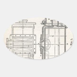 Sticker Ovale Pocletbook du mécanicien