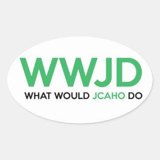 Sticker Ovale Que JCAHO ferait-il ?