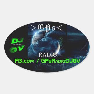 Sticker Ovale Radio de généralistes ! Décalque de voiture