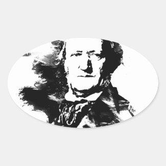 Sticker Ovale Richard Wagner