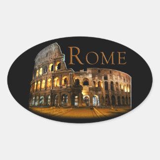 Sticker Ovale Rome
