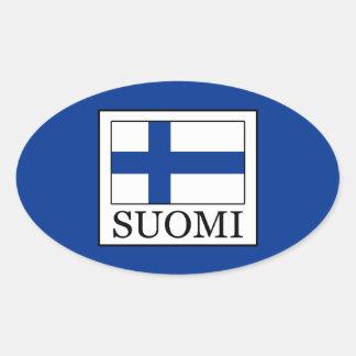 Sticker Ovale Suomi