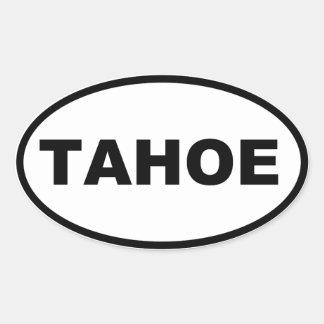 STICKER OVALE TAHOE