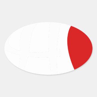 Sticker Ovale teach2