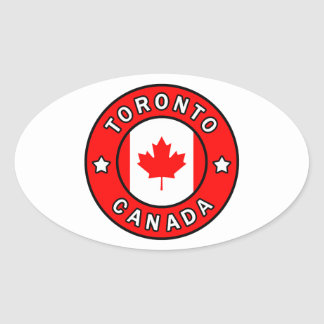 Sticker Ovale Toronto Canada