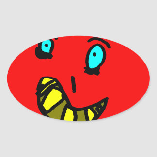 Sticker Ovale Valérian le gentil monstre - Axel Ville