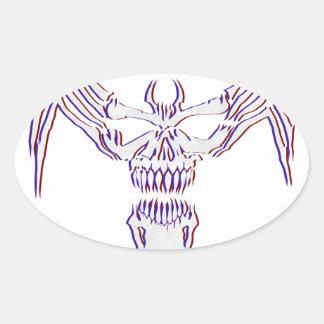 Sticker Ovale Venimeux