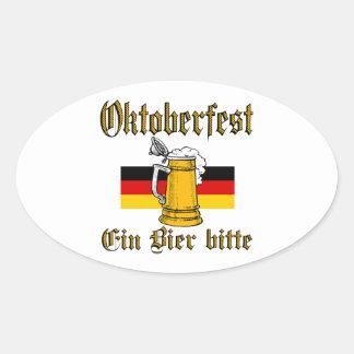 Sticker Ovale Vitesse d'Oktoberfest