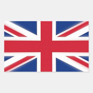 Sticker Rectangulaire Amour Grande-Bretagne