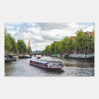 Sticker Rectangulaire Amsterdam