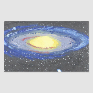 Sticker Rectangulaire Andromeda