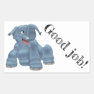 Sticker Rectangulaire Arbo heureux - texte personnalisable
