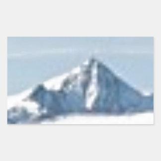 Sticker Rectangulaire au-dessus des nuages