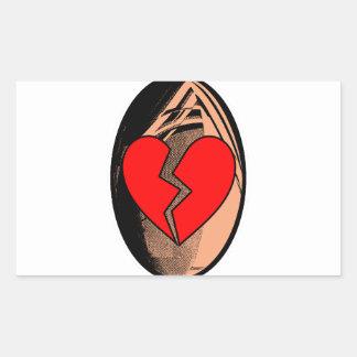 Sticker Rectangulaire Au Rugby, j'apprends à me faire plaquer