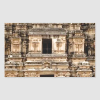 Sticker Rectangulaire bâtiment antique empilé