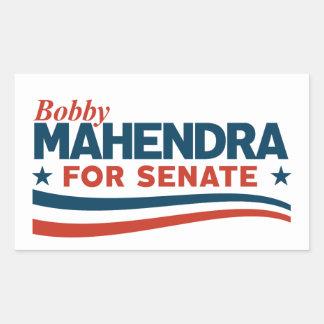 Sticker Rectangulaire Bobby Mahendra pour le sénat
