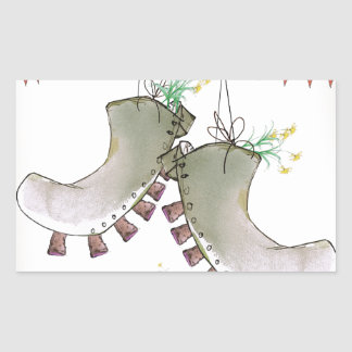 Sticker Rectangulaire bottes de gallois