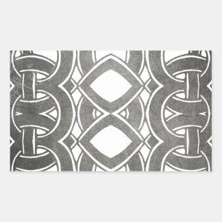 Sticker Rectangulaire Breizh celtique bretagne