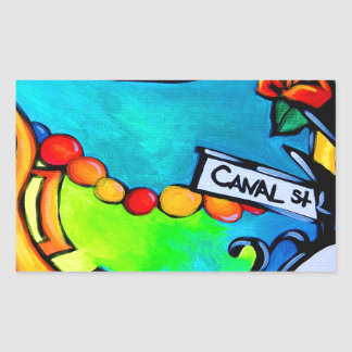 Sticker Rectangulaire canalst