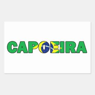 Sticker Rectangulaire Capoeira