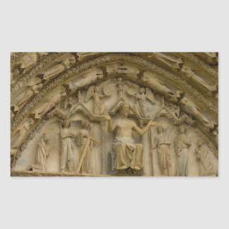 Sticker Rectangulaire cathedral in Bourges
