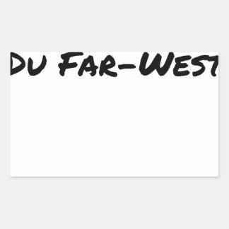 Sticker Rectangulaire Cobol (Du Far-West) - Jeux de Mots- Francois Ville