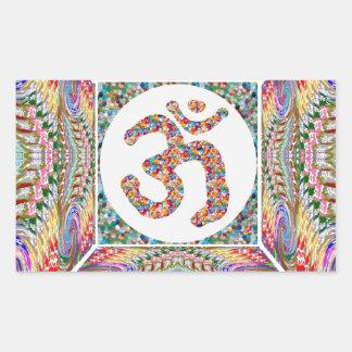 Sticker Rectangulaire Collection de bijou d'incantation de l'OM