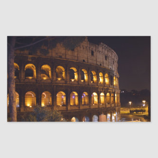 Sticker Rectangulaire colloseum de nuit