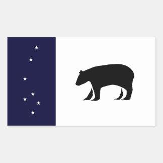 Sticker Rectangulaire Commonwealth d'autocollant de Callisto