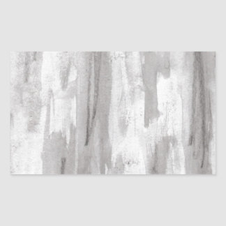 Sticker Rectangulaire conception pour aquarelle