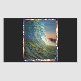 Sticker Rectangulaire Conceptions par : Brian Fugere