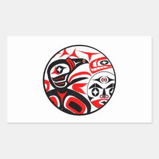 Sticker Rectangulaire Cri de Ravens