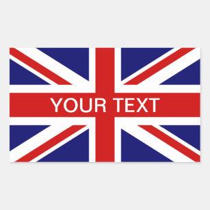 Sticker Rectangulaire Cric personalizable britannique des syndicats des