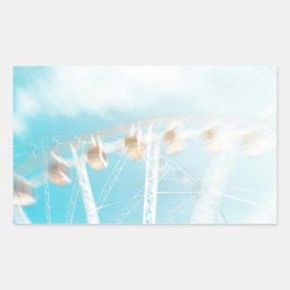 Sticker Rectangulaire Dans le ciel