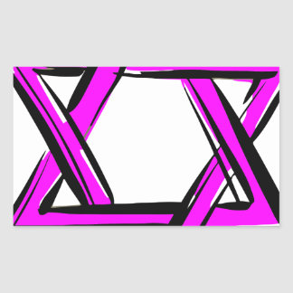 Sticker Rectangulaire David