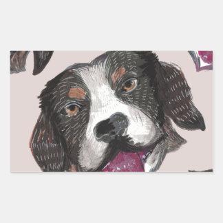 Sticker Rectangulaire doggos