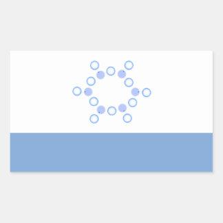 Sticker Rectangulaire Dominion d'autocollant de Titania