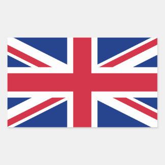 Sticker Rectangulaire Drapeau BRITANNIQUE des syndicats