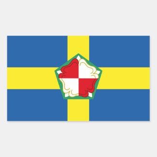 Sticker Rectangulaire Drapeau de Pembrokeshire